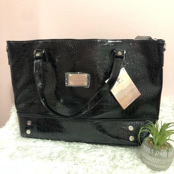 ea9215c5ff84 JM New York Black Travel / Tote Bag NWT! NWT